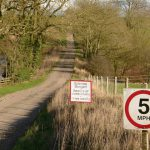 Why are we unable to walk safely on our country roads?