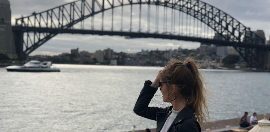 Tess Langfield in Sydney