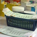 Prescriptions at a GP surgery