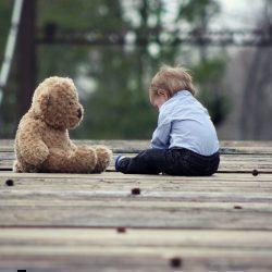 boy with teddy